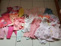 Baby girls clothes bundle 3-6 months (bundle 2)