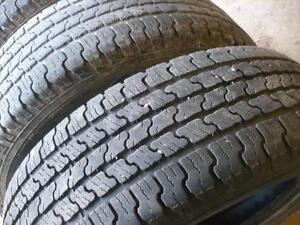 Tw0 215-65-17 tires $90.00