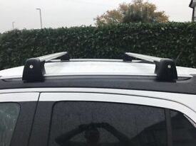 Official Vauxhall mokka roof bars/ rack only used once