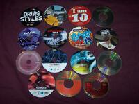 Sample Collection, Sound Library Studio CD's for EMU, Akai, Yamaha, Kurzweil.