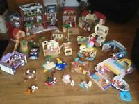Huge Sylvanian family collection