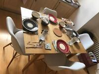 JOHN LEWIS EXTENDING TABLE +4 CHAIRS