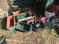 Gardening pots and tubs for sale