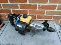 Ryobi petrol heavy-duty rotary SDS hammer drill