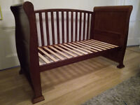 1 sleigh cot bed