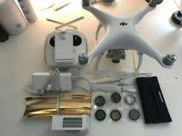 DJI Phantom 4 plus extras