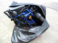 motorcycle (fold up in bag) 49cc £950.00 ono