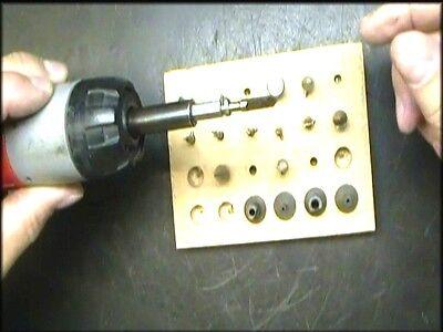 Clock Repair DVD Video - Hand Bushing Methods for Clock Movements Repair Video