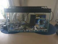30 Litre Fish tank bundle with filter, heater and light