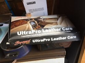 Leather cleaning kits