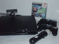SONY PS3 CONSOLE CECH-2003A 120GB WITH ALL CABLES (OUR REF 10560)