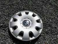 Genuine VW 15inch wheel trim / hub caps