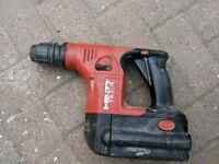 Hilti 36v SDS cordless drill