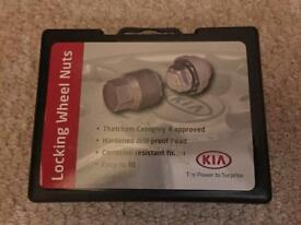 Locking wheel nuts for Kia Ceed 2015