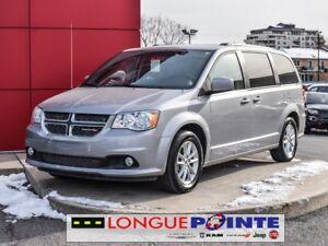 2018 Dodge Grand Caravan /SXT PREMIUM - STO N GO - CUIR - DVD -