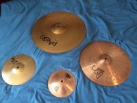 Cymbals for Sale! £60 for the whole lot or purchase individually!