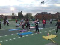 ** 4 week free fitness bootcamp classes for all ages**