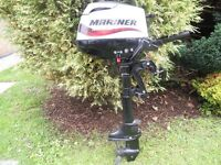MARINER 3.5HP FOUR STROKE OUTBOARD MOTOR