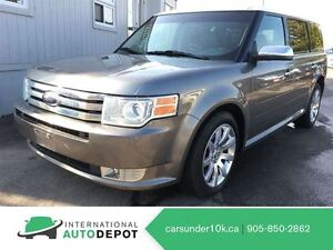 2009 Ford Flex LIMITED AWD / LEATHER / MOONROOF / 7 PASSENGER