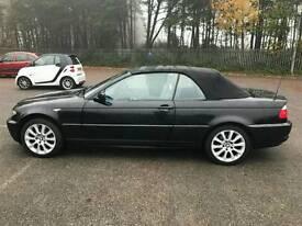 BMW 3 series 318i Covertible 2.0L Automatic Long MOT+Full Service History