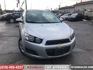 2016 Chevrolet Sonic LT | ONE OWNER | CAM | BLUETOOTH