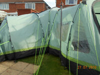 Wynnster marseille 9 dlx 9 person tent fully sewn in ground sheet