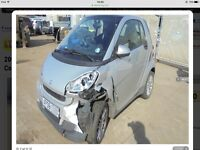Smart Fortwo 1.0 light damage easy repairable