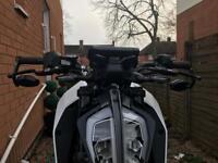Swap KTM Duke 390 for Ducati scrambler
