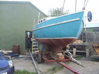 30 foot sailing boat