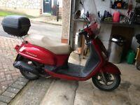 Sum fiddle 2 . 125cc scooter