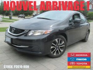 2013 Honda Civic EX +SIEGES CHAUFFANTS +BLUETOOTH+A/C