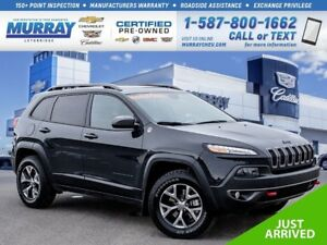 2016 Jeep Cherokee Trailhawk**Heated Seats!  Nav!**
