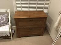 Ikea Dark wood Aspelund