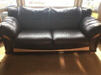 Three Seater & Two Seater Leather Sofas