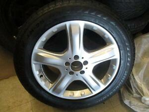 255/50R19	BRIDGESTONE	BLIZZAK LM-25 4X4 WINTER TIRES ON OEM MB WHEELS