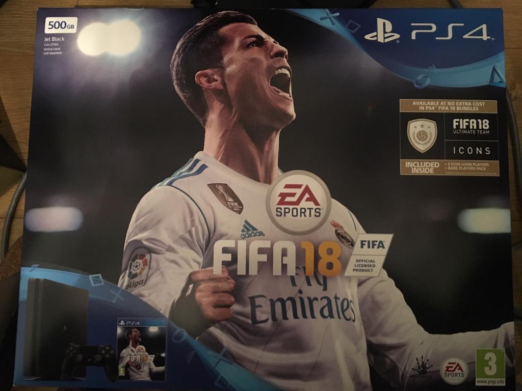 Brand new PS4 FIFA 18 bundle