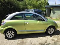 great small car, roof works well, bluetooth handfree system for phone and music, sad to see it go