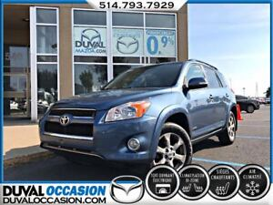 2009 Toyota RAV4 LIMITED + CUIR + TOIT OUVRANT