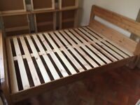 Futon wooden bed frame