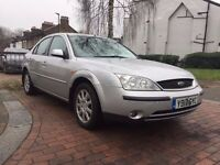 FORD MONDEO FULL SERVICE HISTORY MOT AND TAX