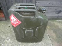 20L Metal Jerry Can Car Storage Fuel Petrol Diesel Oil Container