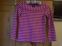 Girl's JOULES Stripe Top