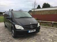 Mercedes Vito 9 seats Automatic only £9700