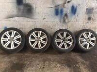 "Set off 4 17"" alloys to suit 5x112 audi vw etc"