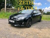 2013 Ford Focus Zetec 1.6 TDCI - 75,000 miles (Delivery available 🚚)