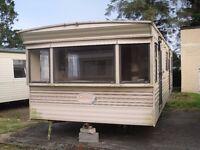 Cosalt Capri FREE DELIVERY 31ft x 10ft 2 Bedrooms off-site static caravan