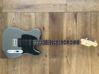 Fender American Telecaster HH 2005 with Bare Knuckle Pickups - Grey/Black