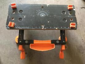 Table Top Workbench with Suction Pads