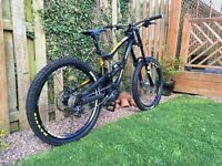 Nukeproof scalp 2015 downhill mountain bike medium great condition