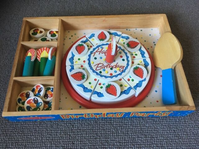 Marvelous Melissa And Doug Wooden Toy Birthday Cake In Aberdeen Gumtree Funny Birthday Cards Online Alyptdamsfinfo